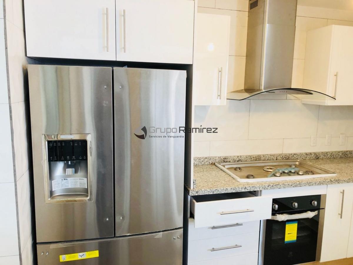 Cocina Integral con Refrigerador Duplex