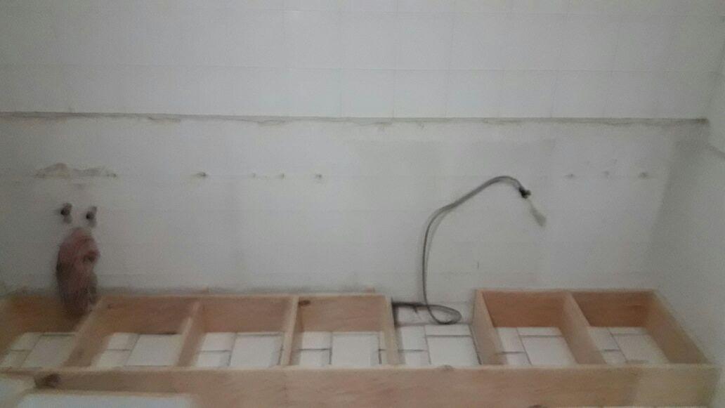 Instalación de base en cocina integral
