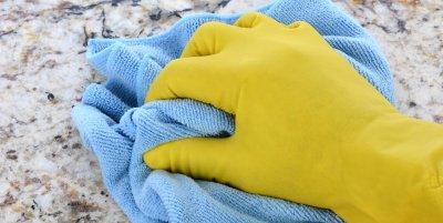 Como limpiar la cubierta de Granito en mi Cocina